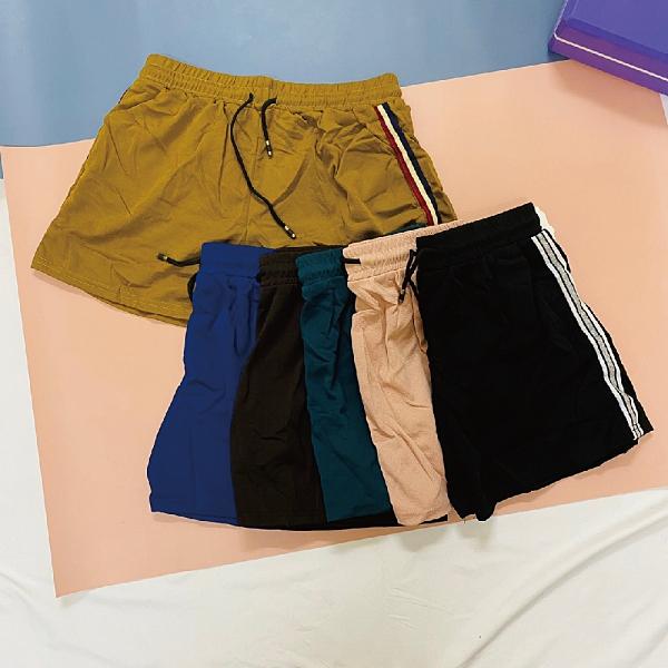 Carphanie卡芬妮 百搭可愛俏皮雙口袋女生短褲-6色