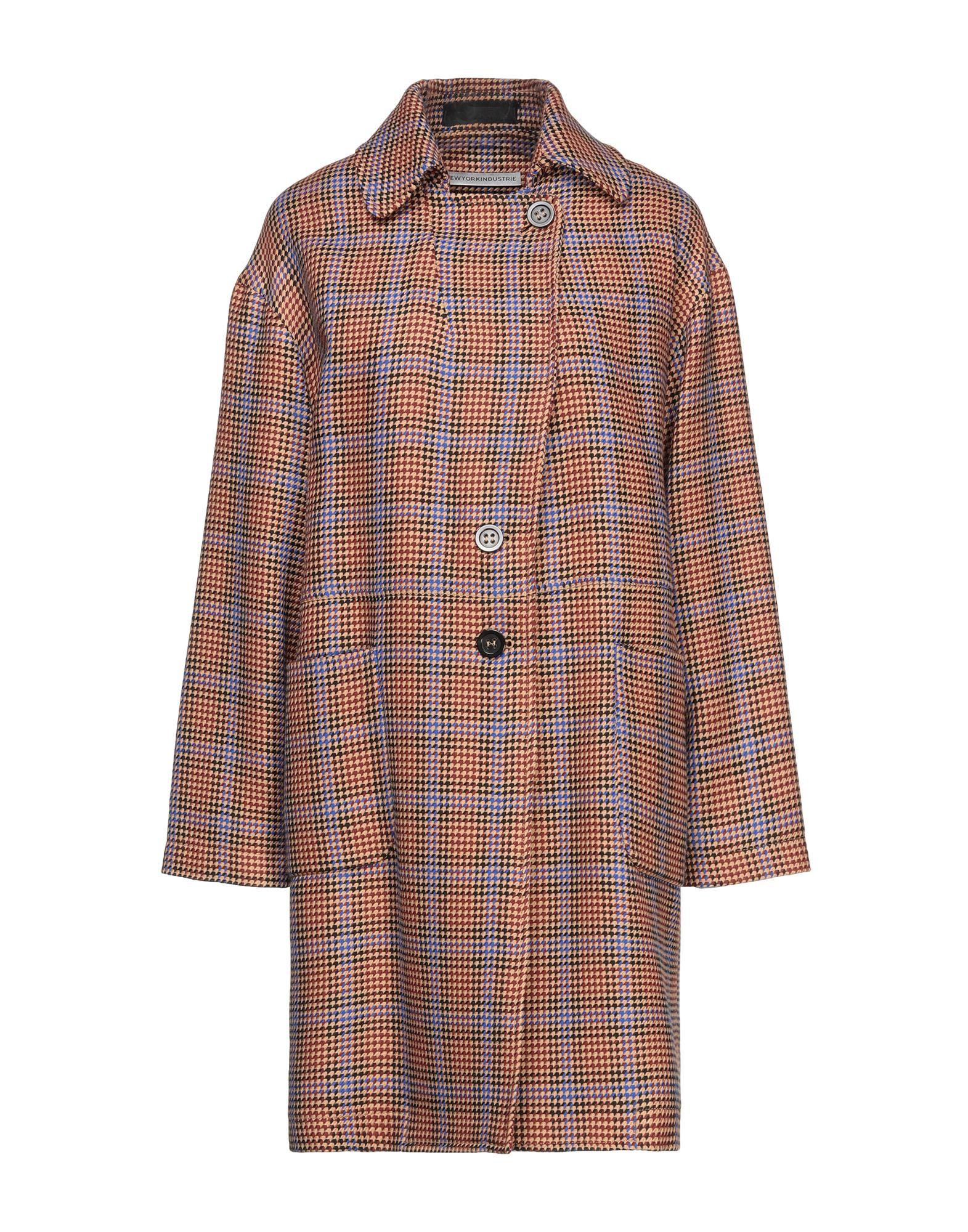 NEW YORK INDUSTRIE Overcoats - Item 16034185
