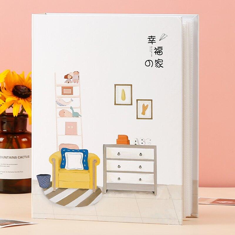相冊 5寸6寸7寸過塑相冊本紀念冊插頁式大容量家庭情侶寶寶成長小影集 【CM5848】