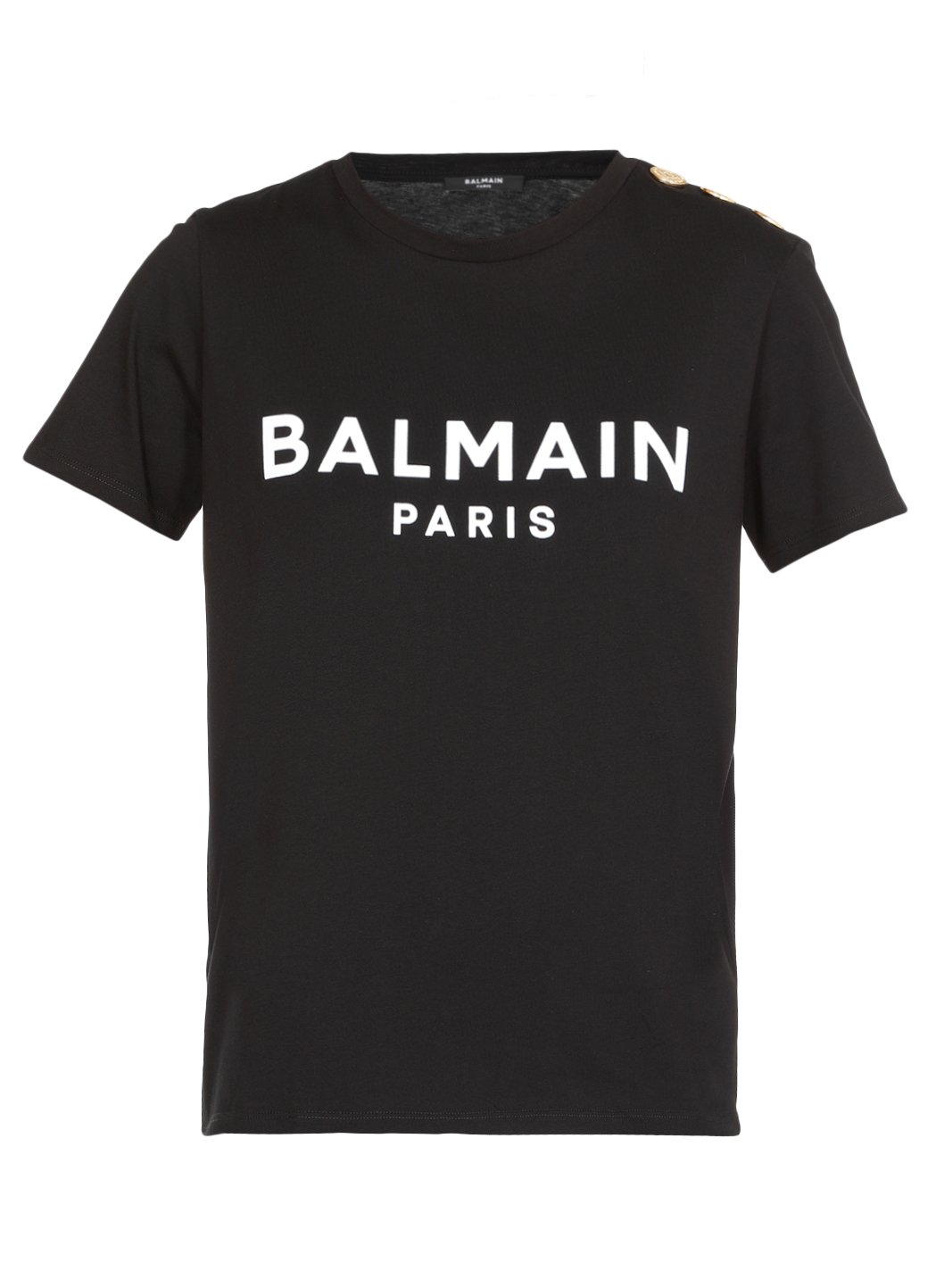 Balmain T-shirts and Polos Black