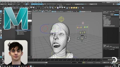 Facial Rigging 101 - Maya 2020