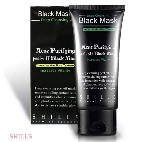 SHILLS 挽臉活性炭黑面膜50ml