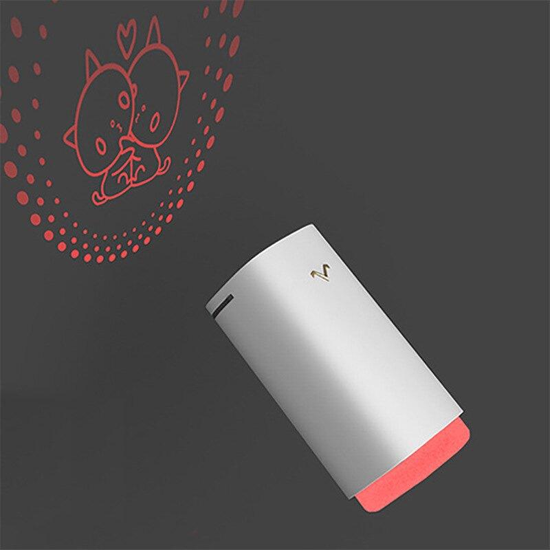 【免運】加濕器 創意小型車載小V加濕器投影迷你桌面usb空氣超聲波霧化器禮品定制 夏天必備神器