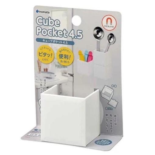 inomata 日本製 5095 Cube吸鐵收納小物盒-小 4905596509561