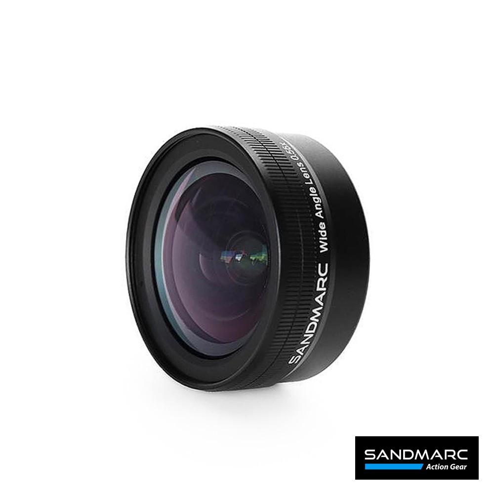 SANDMARC 0.56X超廣角HD手機鏡頭 (iPhone 11Pro Max背蓋 與 安卓共用夾具)【台灣總代理】