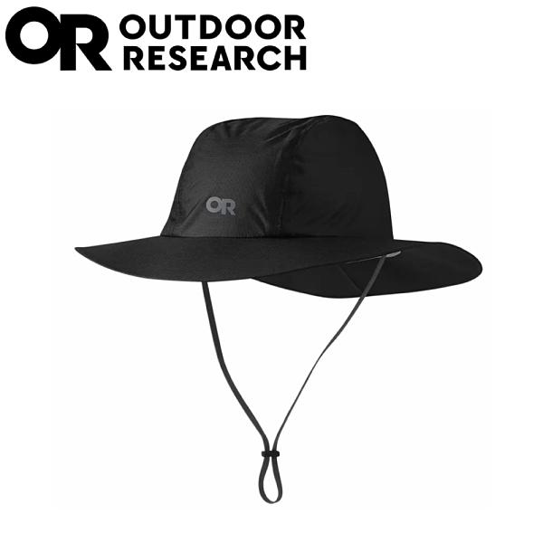 【Outdoor Research 美國 防水透氣大盤帽《黑》】279927/抗紫外線防曬帽/登山健行