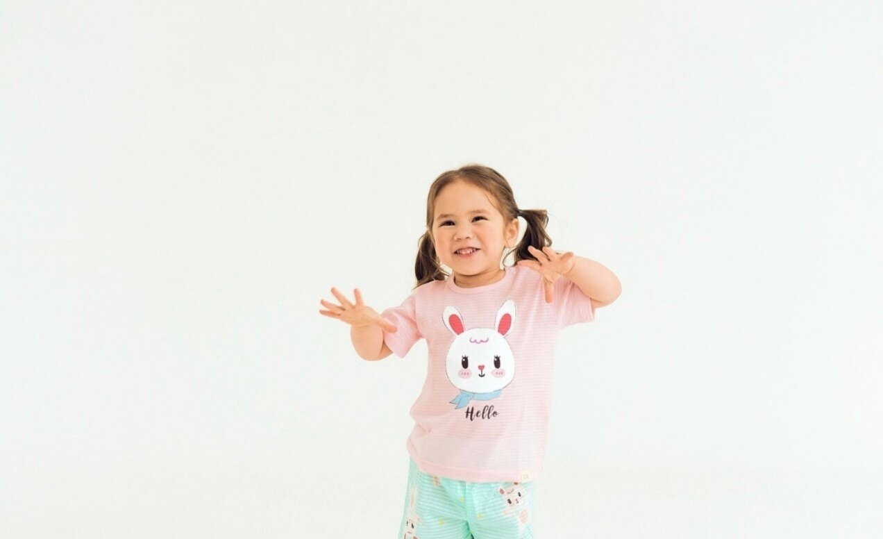 (預購)正韓國純棉 ttasom兒童居家服春夏款(三分袖)90-150cm 芒果姐姐童裝屋