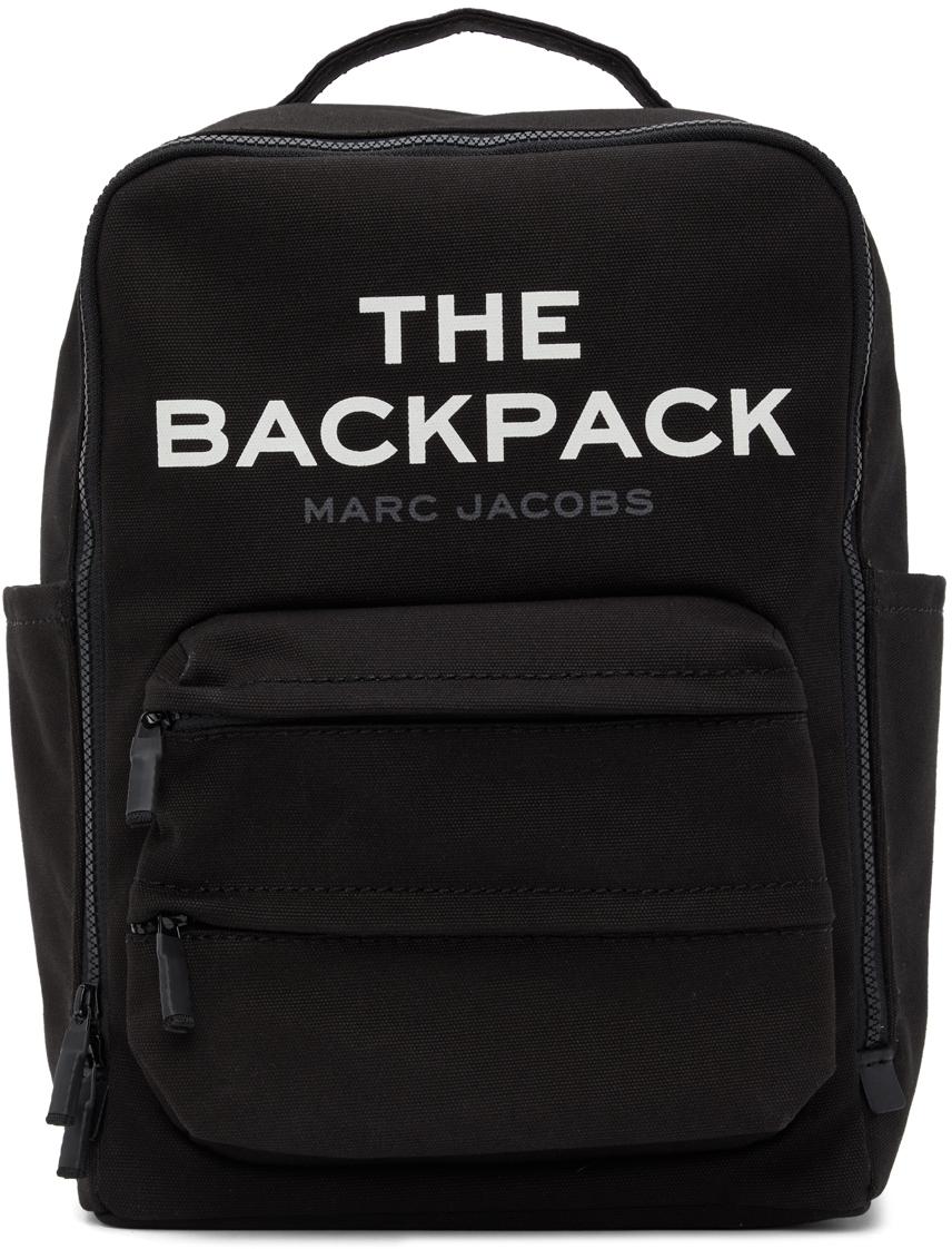 Marc Jacobs 黑色 The Backpack 双肩包