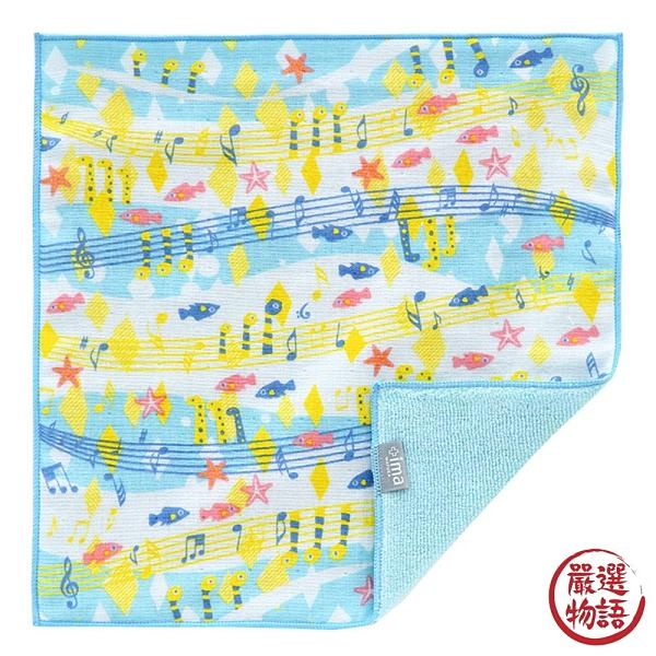 【日本製】【+ima】今治毛巾 Imabari Towel 手帕 花園鰻 SD-2311 - 日本製
