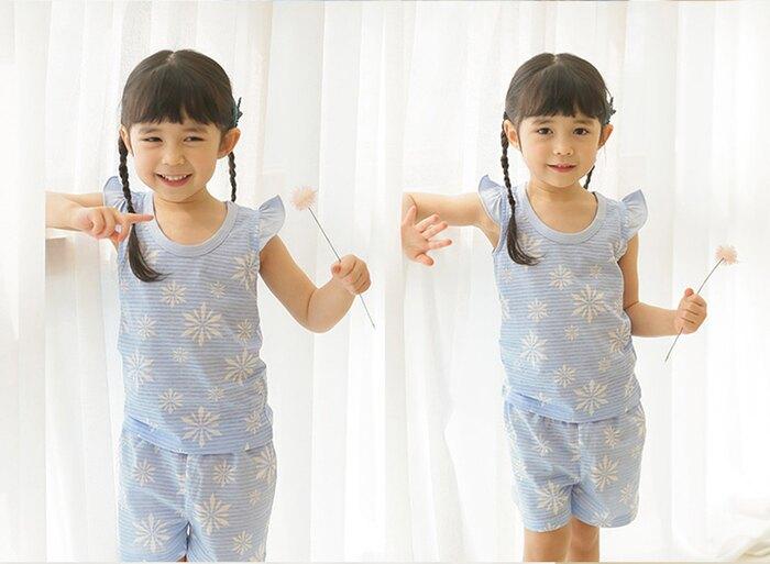 (預購)正韓國純棉 PUCO兒童居家服春夏款(無袖)90-140cm 芒果姐姐童裝屋