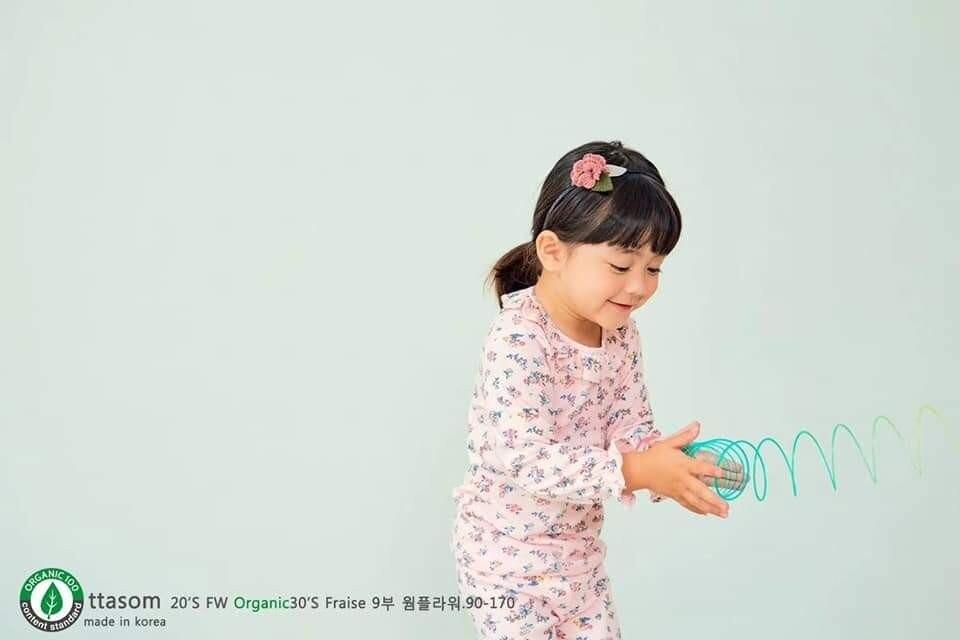 (現貨)正韓國純棉 ttasom兒童居家服秋冬款(長袖)90-170cm 芒果姐姐童裝屋