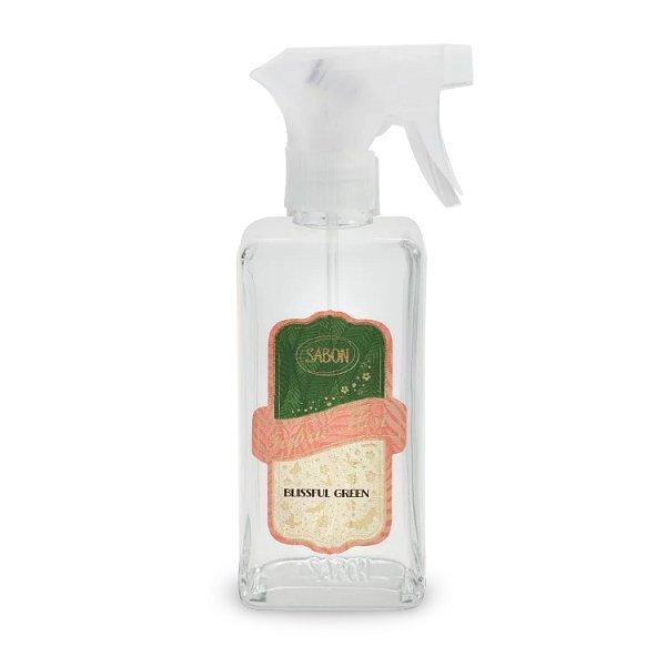 SABON 綠意叢林織物香氛噴霧 350ML 黑皮TIME 40471