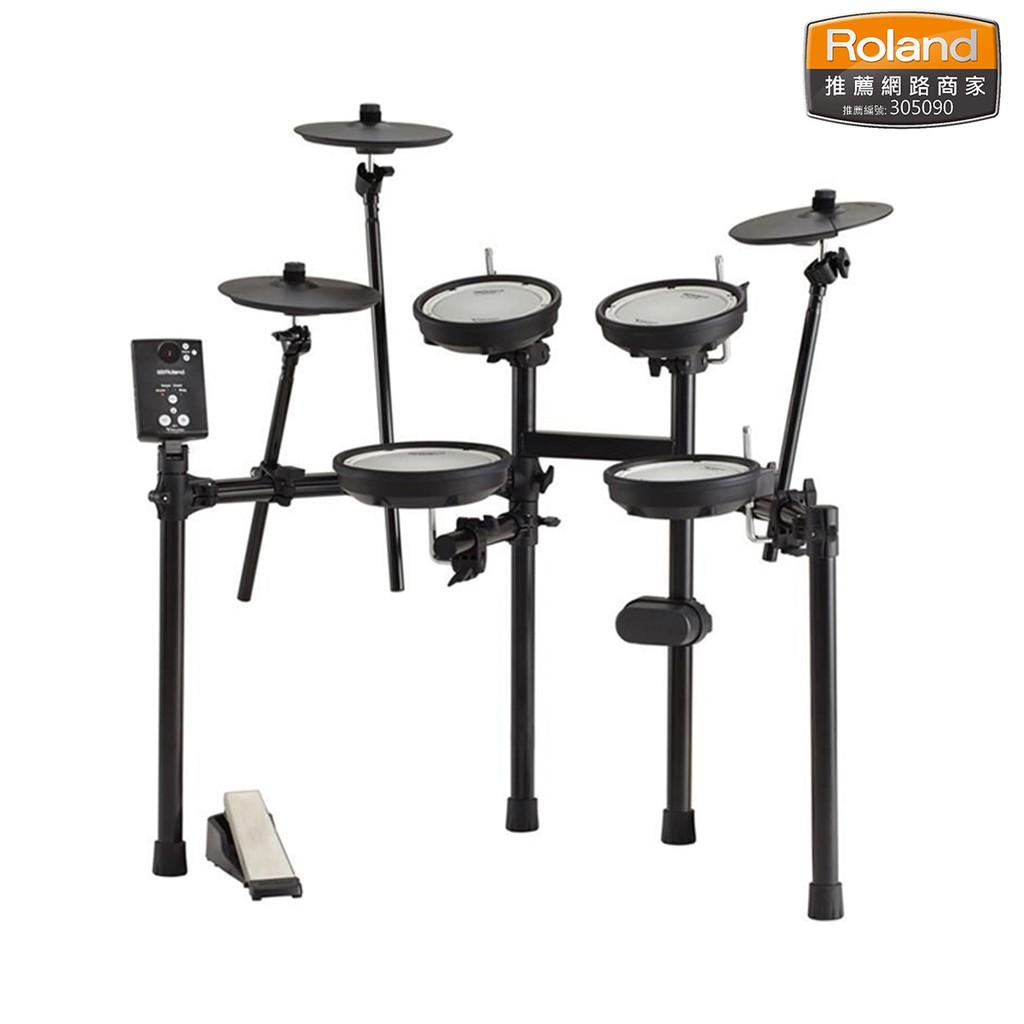 Roland TD-1DMK 最超值實用的V-Drums電子鼓 真實手感音色 附贈鼓椅踏板鼓棒地毯【民風樂府】