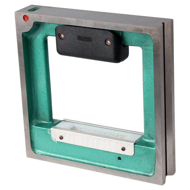 鐳射水平儀高精度工業級機床水平尺條式框式水平儀0.02mm小水泡100-150-200
