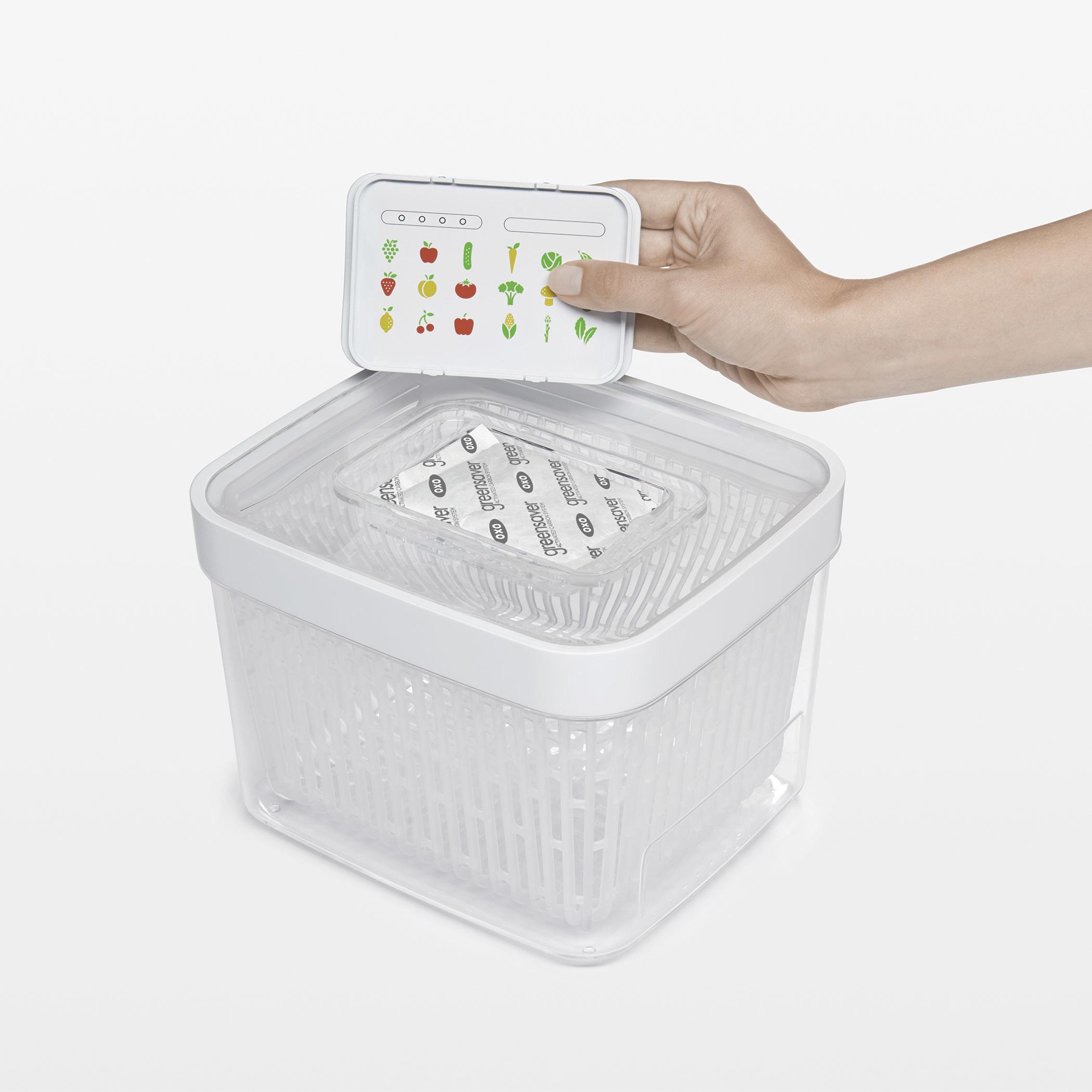 OXO 蔬果長鮮盒活性碳補充包2入 010401RF