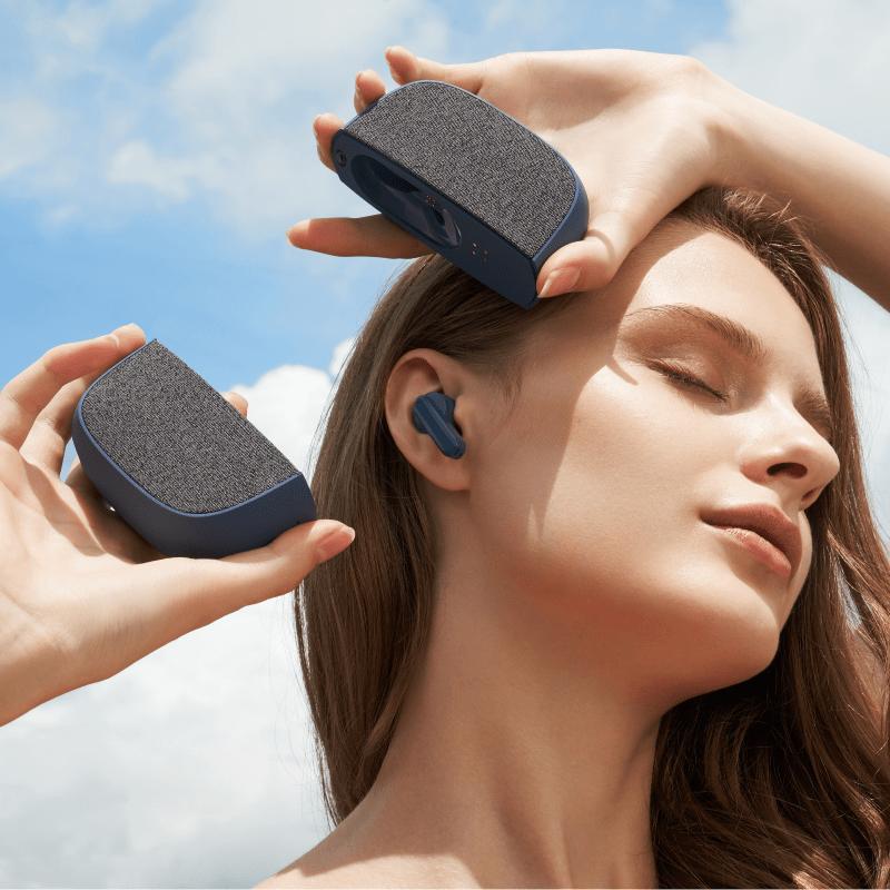 美國 DuoLink 二合一耳機音響|是音響也是耳機!耳機藏在音響裡! 【超早鳥限定】二合一耳機音響 - 海軍藍