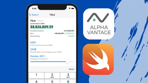 iOS 14 & Swift 5: Financial App with Stock APIs & Unit Tests