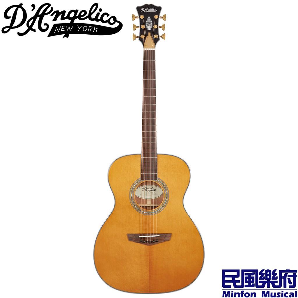 D'Angelico Excel Tammany XT 紐約傳奇品牌 全單版電木吉他 桃花心木 復古色【民風樂府】