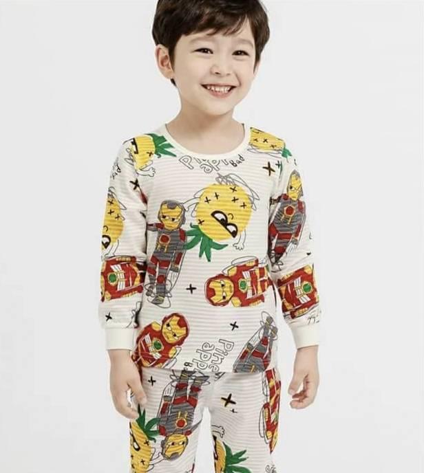 (預購)正韓國純棉 Mellisse兒童居家服春夏款(薄長袖)90-150cm 芒果姐姐童裝屋