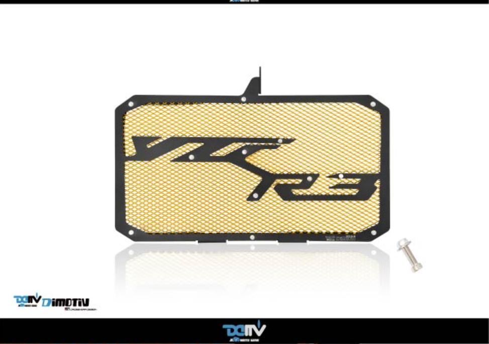 【正宇車業】YAMAHA YZF-R3 15-19 造型款水冷護網 DMV