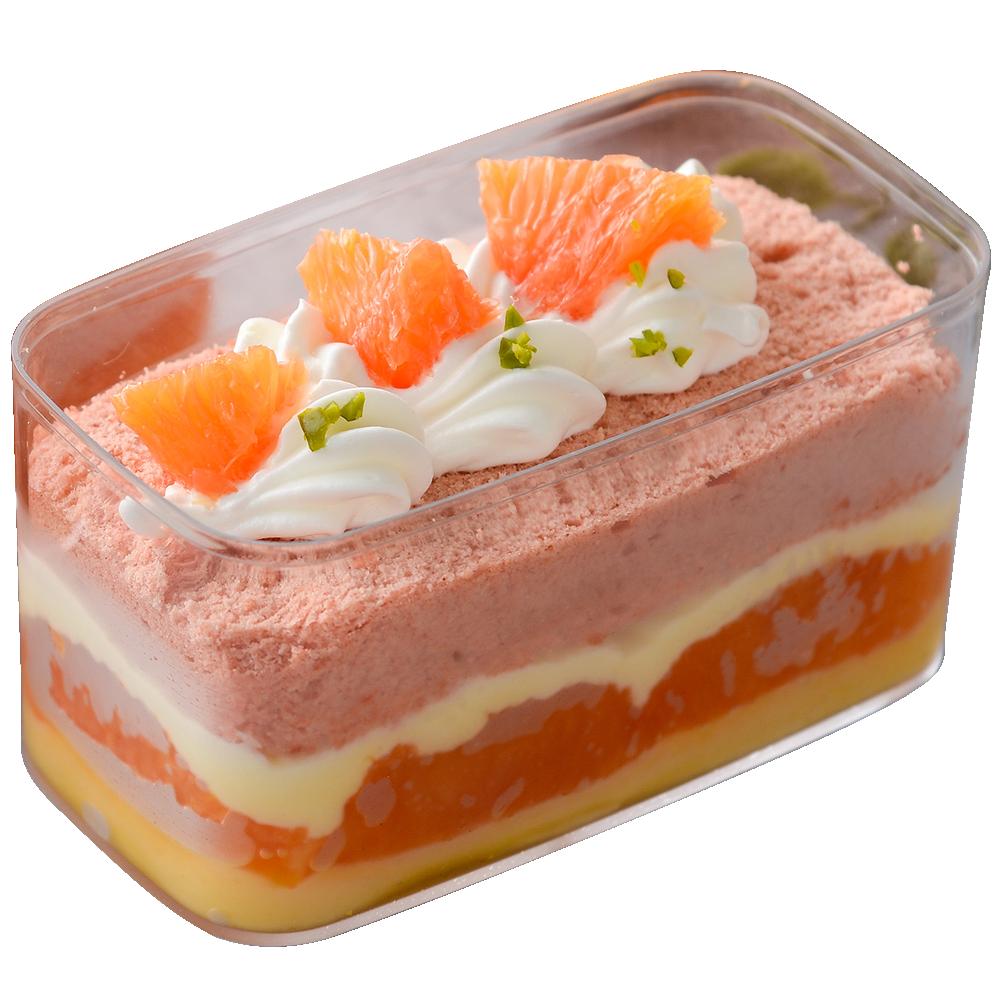 oO氧沐手作甜點Oo 新鮮香吉士小浴缸蛋糕 1入