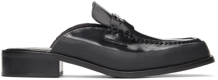 MISBHV 黑色 Penny 乐福鞋