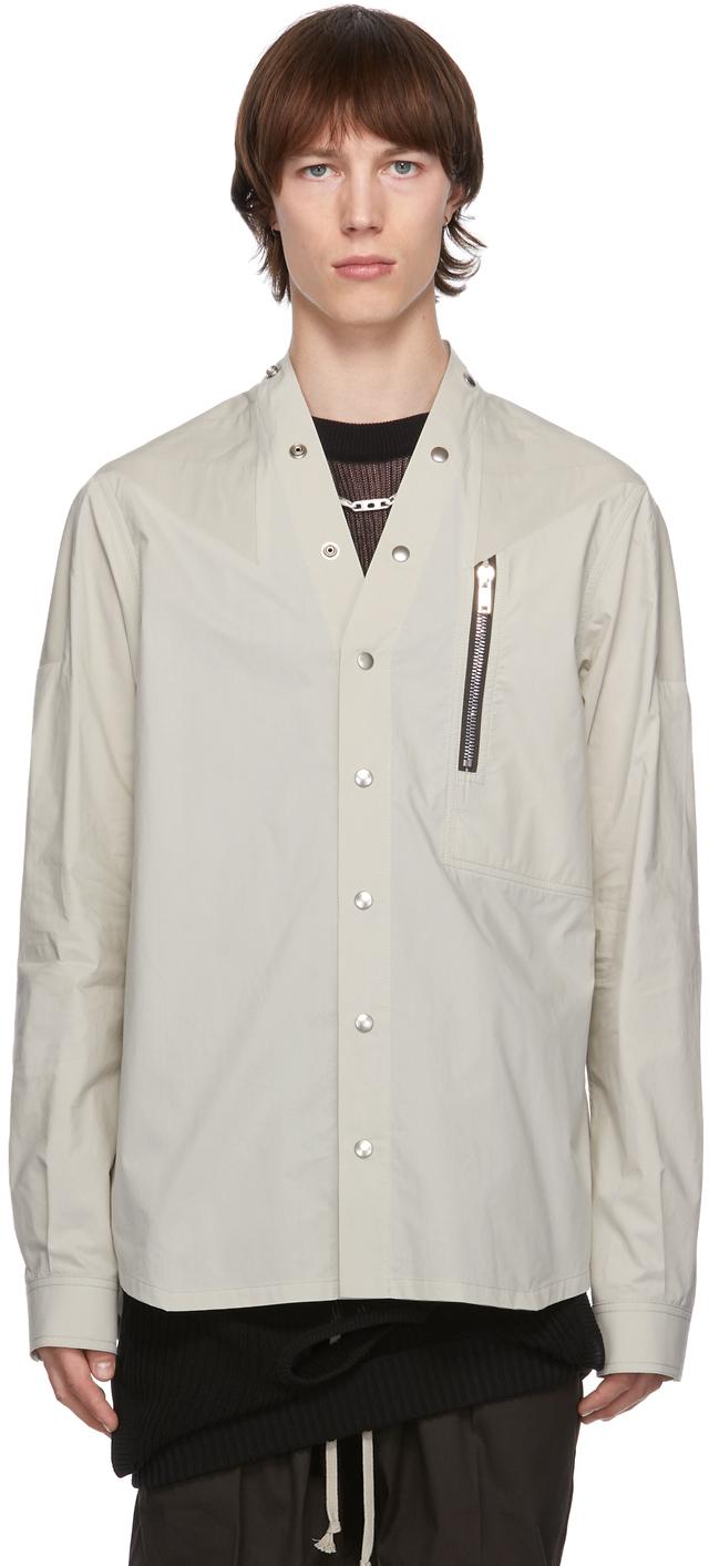 Rick Owens 灰色 Performa 衬衫