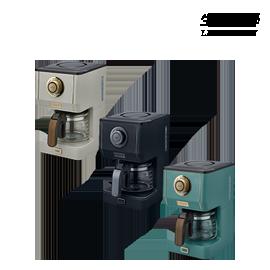 防疫宅購物 嘉頓國際 TOFFY【K-CM5】咖啡機 LADONNA 馬卡龍 復古 3種濃度 全聯
