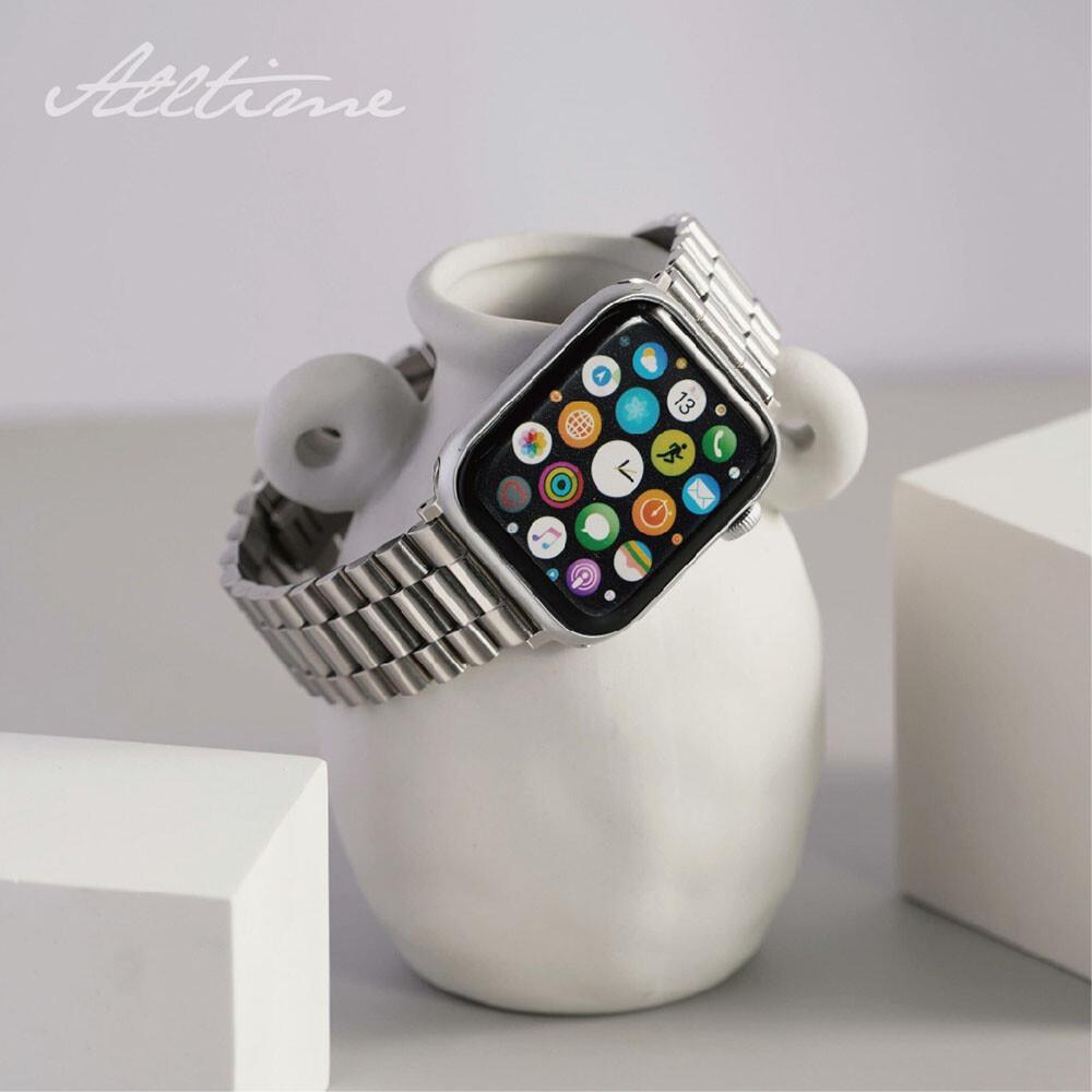 經典豪式平款316l不鏽鋼錶帶 apple watch通用錶帶
