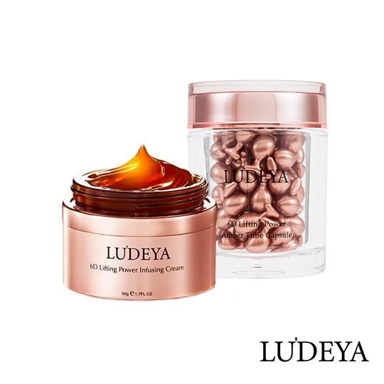 LUDEYA 琥珀能量緊緻組(琥珀膠囊+琥珀霜) (小明星大跟班 王思佳推薦 )