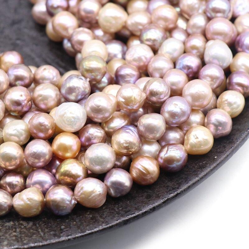 天然淡水珍珠散珠異形彩色愛迪生巴洛克珍珠 diy耳環手鏈飾品配件