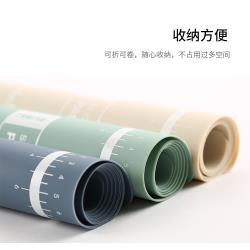 『環球嚴選』硅膠揉麵糰墊/刻度防滑麵粉墊/烘焙工具 K0082