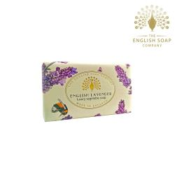 The English Soap Company 英國薰衣草 English Lavender 190g 乳木果油復古香氛皂
