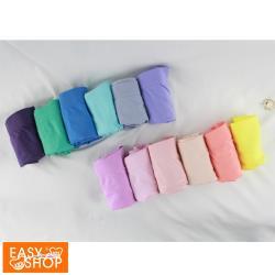 【EASY SHOP】iMEWE-長效抗菌無縫高彈高腰三角內褲-綜合色(十二件組)
