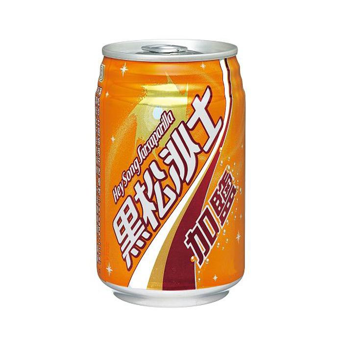 黑松加鹽沙士330 ml