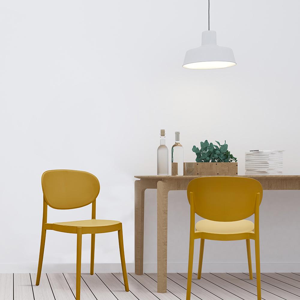 【預購】*Dean單椅-橄欖黃