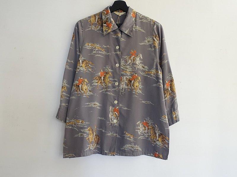 Awhile一時 | Vintage 長袖襯衫 no.377