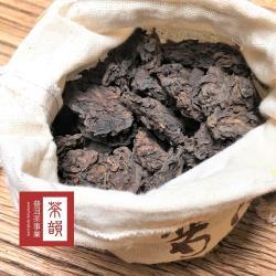 [茶韻普洱茶專賣店]1993年 勐海茶區老茶頭 乾倉存放 熟茶 零農藥殘留 200g(清甜解膩好夥伴)