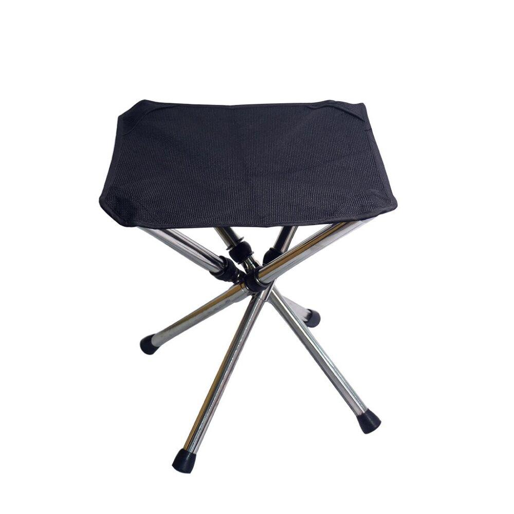 不銹鋼摺疊收納椅 登山 露營 廟會 排隊 方便收納 輕巧 輕盈 露營椅 休閒椅 手提 收納袋 釣魚
