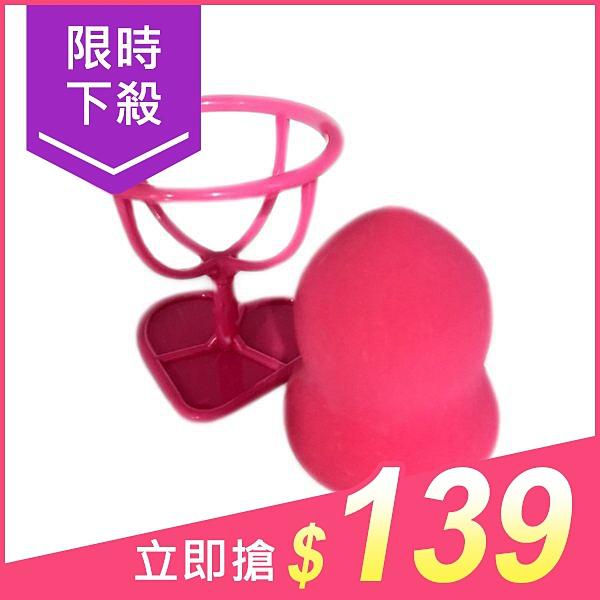 Kyusha 美妝蛋(附收納架)KS-11010(1入)【小三美日】原價$149