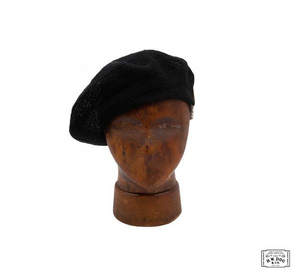 H.W.DOG&CO. TERRY BERET亞麻大貝蕾帽款(四色)
