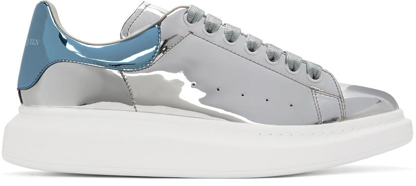 Alexander McQueen 银色阔型运动鞋