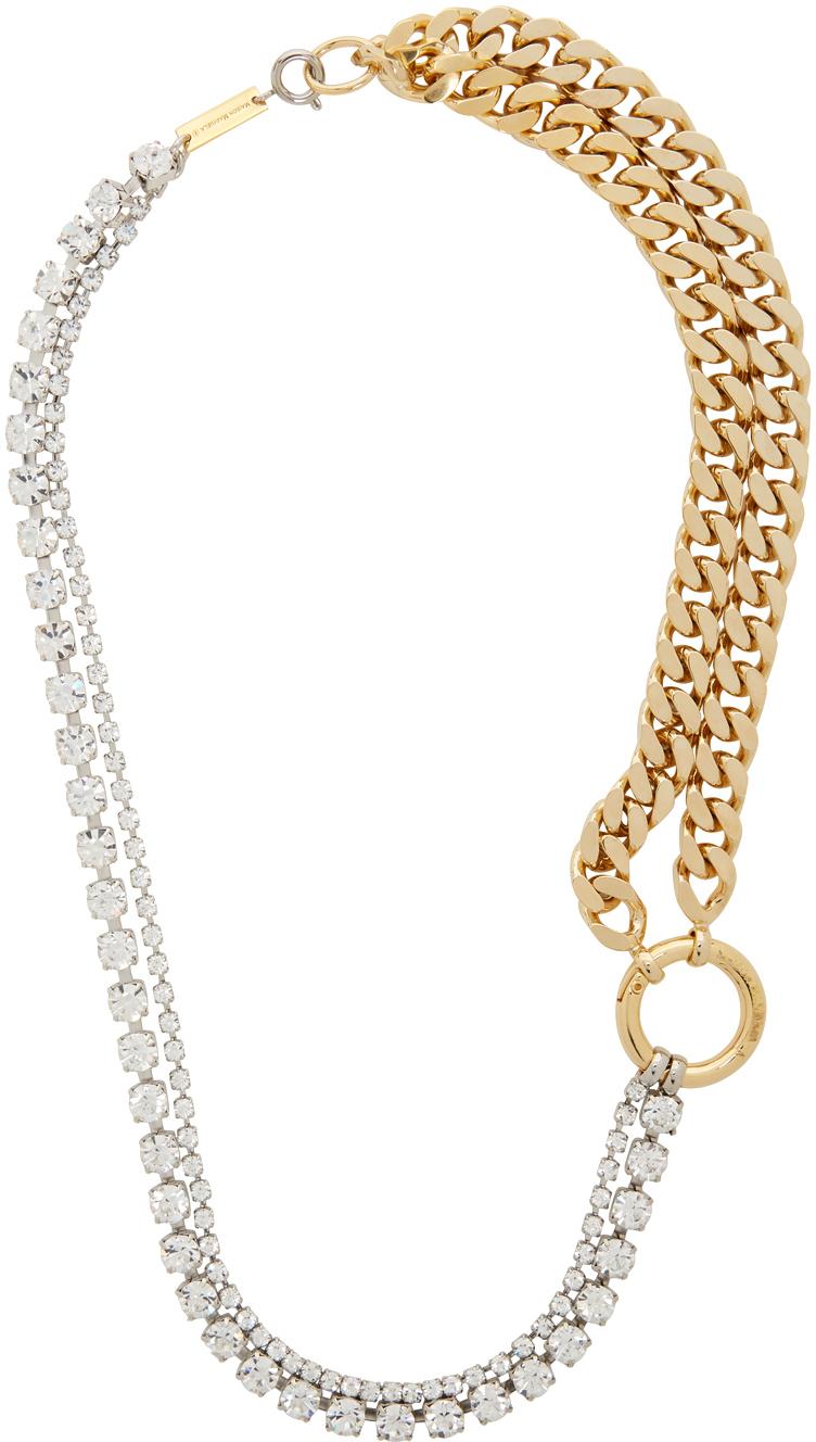 MM6 Maison Margiela 金色 & 银色 Mixed 项链