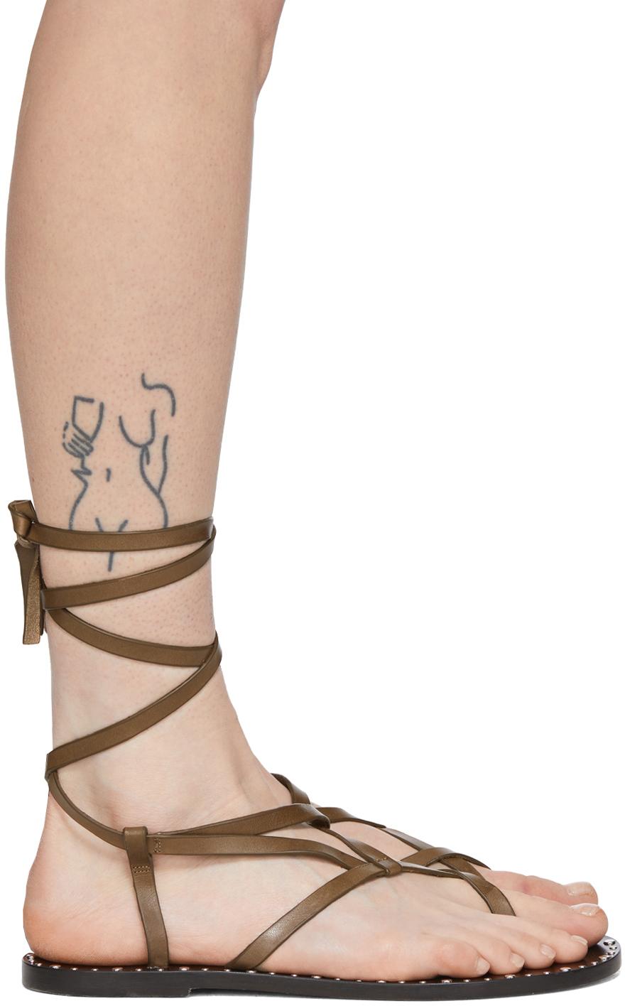 Isabel Marant 棕色 Jesaro 凉鞋