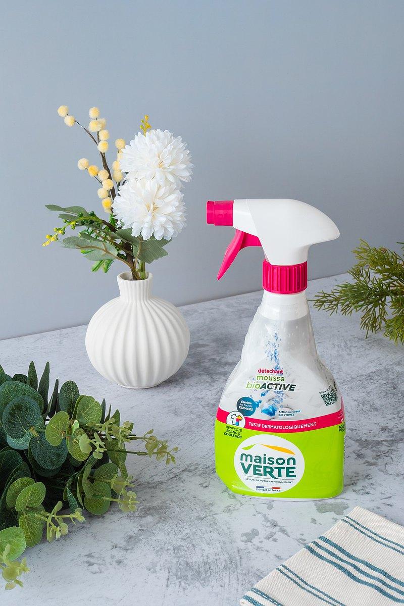 法國綠墅Maison Verte活性泡沫衣物去汙劑500ML