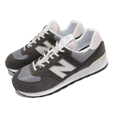 New Balance 休閒鞋 574 復古 男女鞋 紐巴倫 潮流 麂皮 穿搭推薦 情侶鞋 M1300JP配色 灰 白 ML574SRPD
