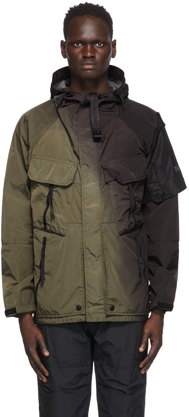 NEMEN® 绿色 & 黑色 Dare 浸染夹克