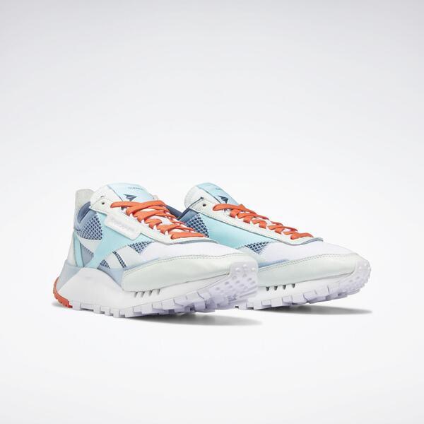 Reebok Cl Legacy [FZ0812] 男鞋 運動 休閒 舒適 透氣 貼合 經典 穿搭 白 水藍