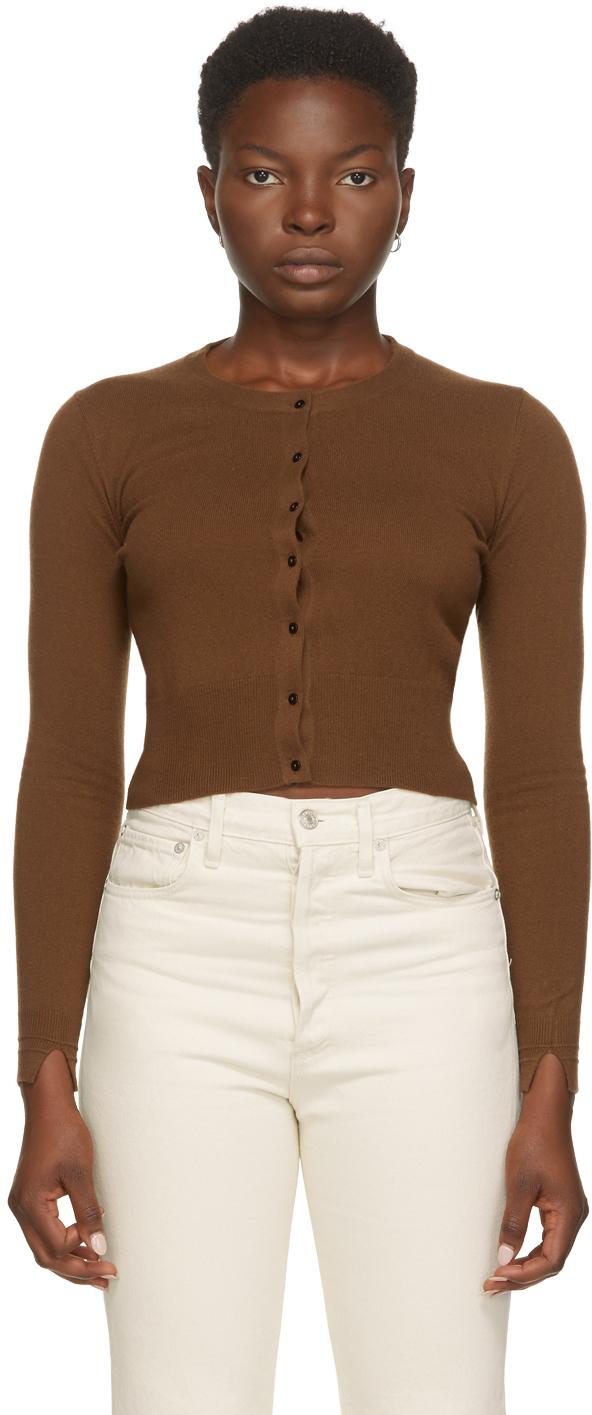 arch4 棕色 Blithfield 小山羊绒开衫