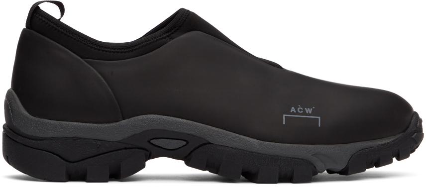 A-COLD-WALL* 黑色 Dirt Mock 运动鞋